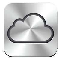 ICloud logo vector