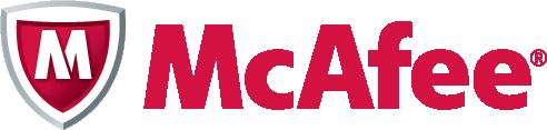McAfee logo vector image