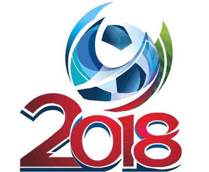 Russia 2018 logo vector