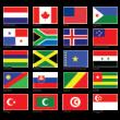 Flags Part 1 vector