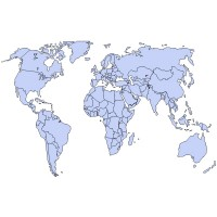 World Map vector, World Map in .EPS, .CRD, .AI format