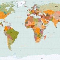 World Map Vector vector, World Map Vector in .EPS, .CRD, .AI format