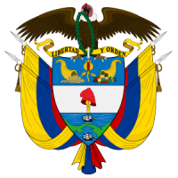 Escudo de Colombia logo vector