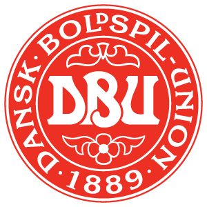 Denmark football team logo vector