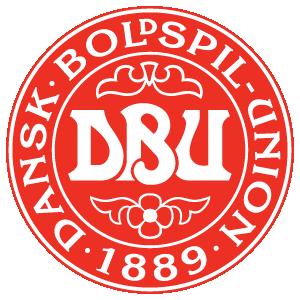 Denmark football team logo vector free
