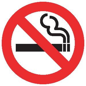 No Smoking logo vector