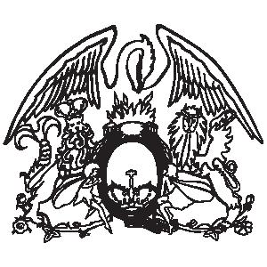 Queen logo vector