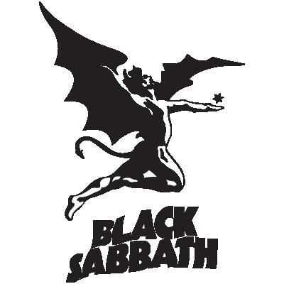 Black Sabbath logo vector