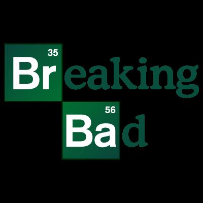Breaking Bad TV series vector logo