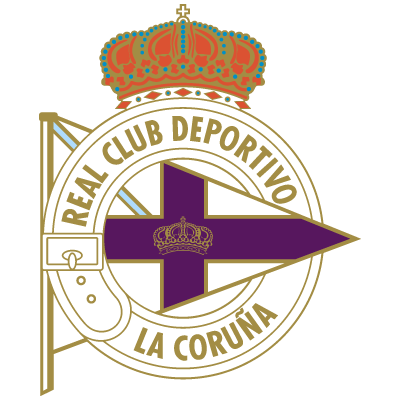 Deportivo de La Coruna logo vector
