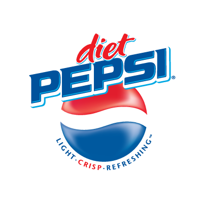 Diet Pepsi logo vector