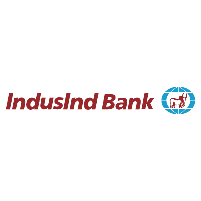 Indusind bank logo vector