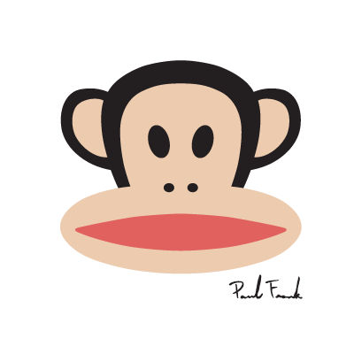 Paul Frank Monkey logo vector