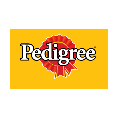 Pedigree logo vector