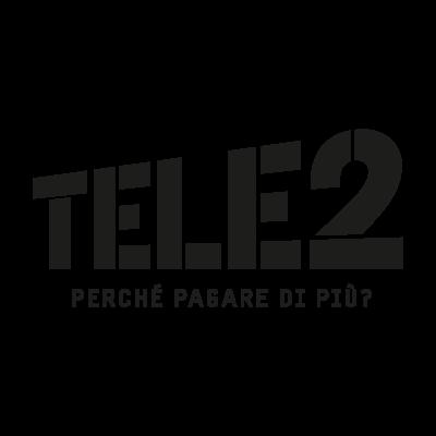 Tele2 logo vector