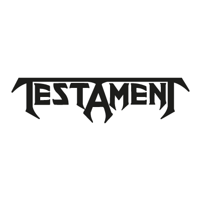 testament vector logo testament logo vector free download