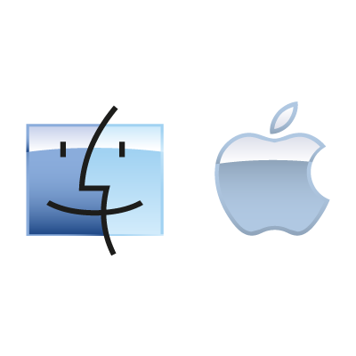 Apple Mac OS logo vector