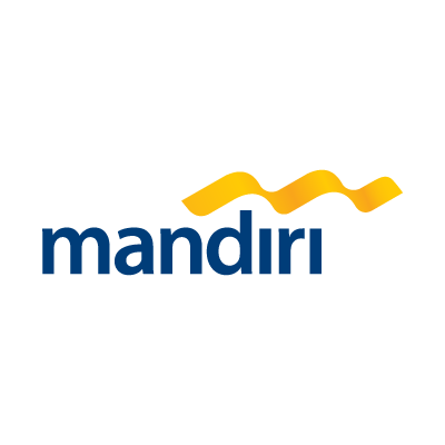 Bank mandiri logo vector