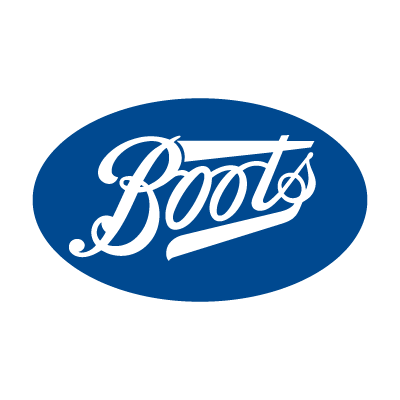 Boots logo vector preview