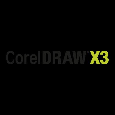 Corel Draw X3 logo vector
