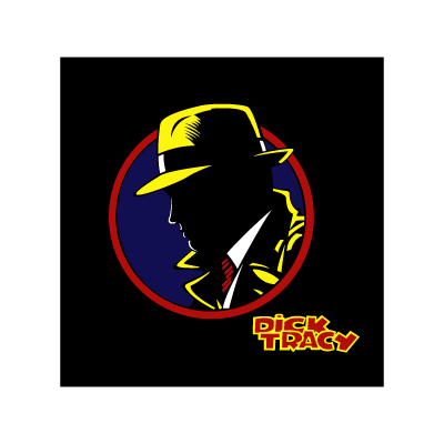 Dick Tracy logo vector