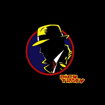 Dick Tracy vector logo