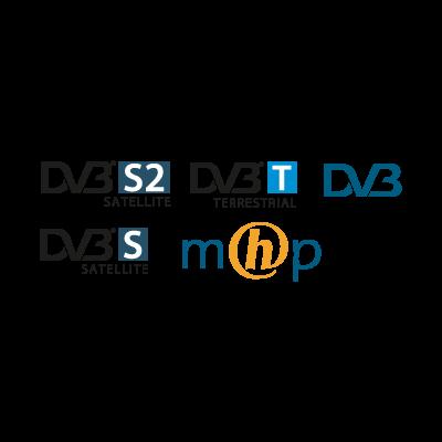 DVB logo vector