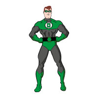 Green Lantern Film logo vector