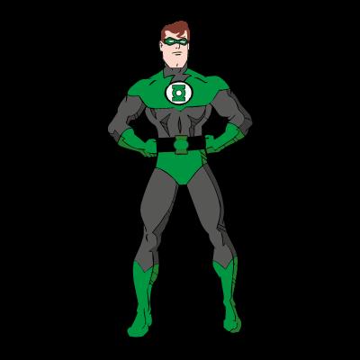 Green Lantern Film logo vector