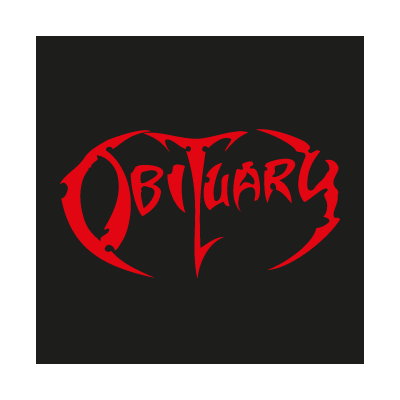 Obituary logo vector