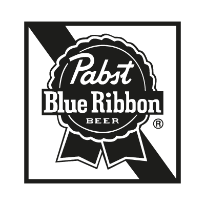Pabst Blue Ribbon logo vector