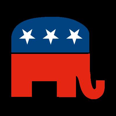 Republican logo vector