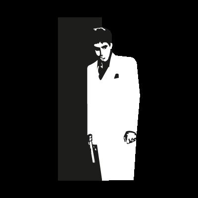 Scarface logo vector