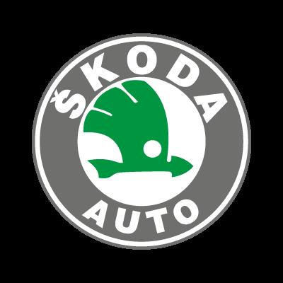 Skoda Auto logo vector