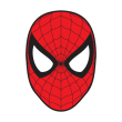 Spiderman Mask logo vector