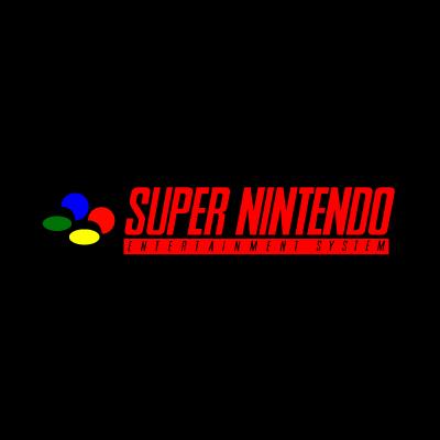 Super Nintendo logo vector