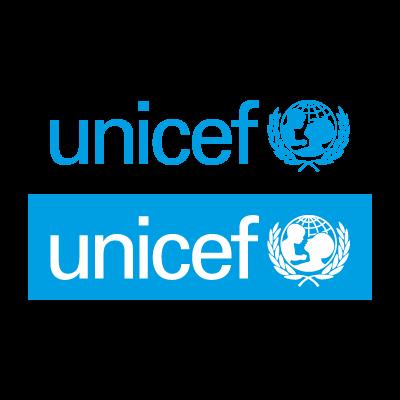 Unicef cyan logo vector