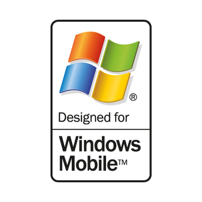 Windows Mobile logo vector