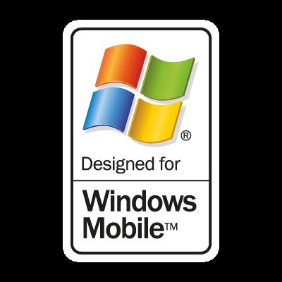Windows Mobile logo vector