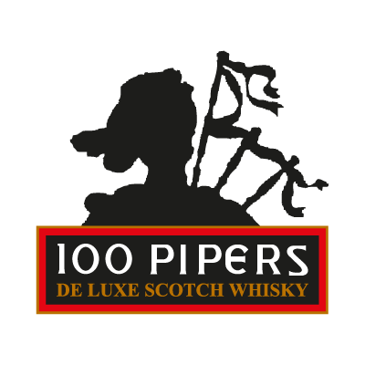100 Pipers logo vector