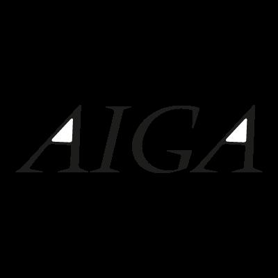 Aiga logo vector