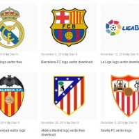 all laliga vector logo teams