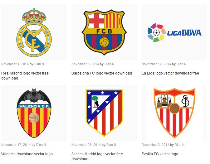 Real madrid logo vector eps food icons