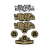 Black Eyed Peas logo vector