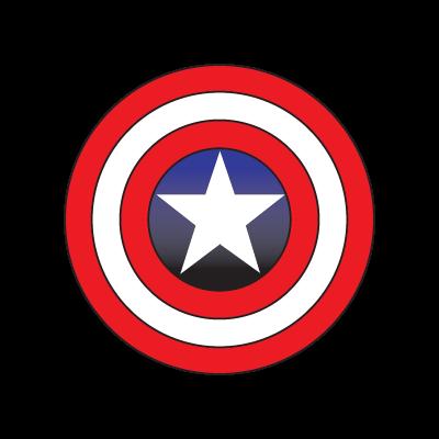 Captain America logo vector free