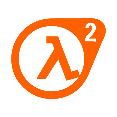 Half Life 2 logo vector
