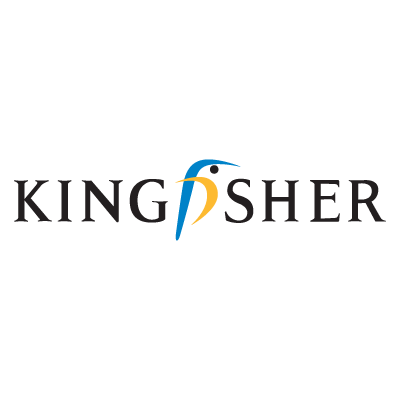 Kingfisher logo vector