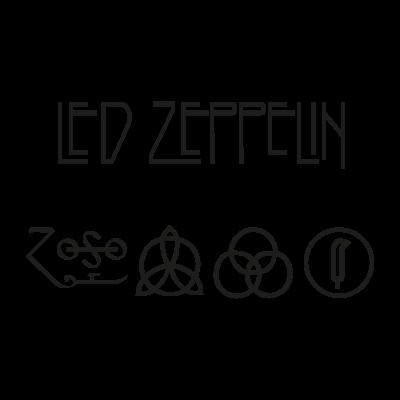 Led Zeppelin logo vector