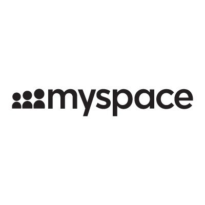 New MySpace logo vector