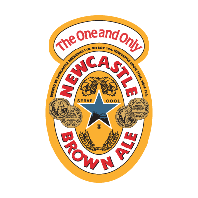 Newcastle Brown Ale logo vector
